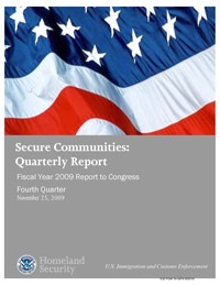 Secure Communities Quarterly Report Image