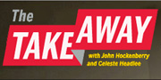 The Take Away Radio Show Logo